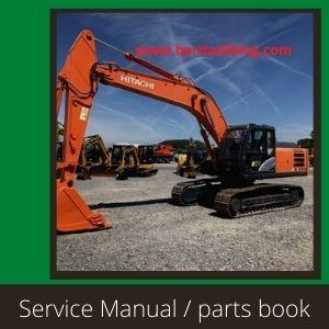Hitachi Zaxis zx240-5g zx240lc-5g 250u-5g 250lch-5g service manual