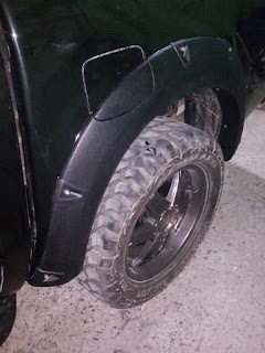 Over Fender all new Ford Ranger galerry model kunci L slim.