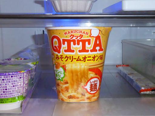 【マルちゃん(東洋水産)】QTTA(クッタ)みそクリームオニオン味