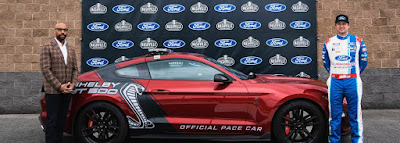 Ford Named Official Pace Car Provider At Dover