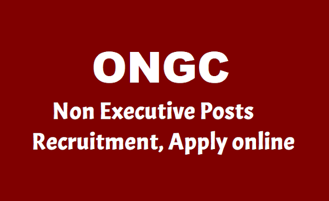 ONGC Non Executive Posts