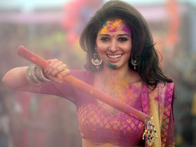 Happy Holi 2018 Actress Image