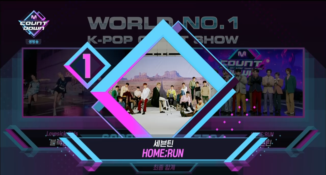 'Home Run' Received It's 2nd Trophy Today on M!Countdown