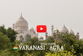World travel in india this is incredible india, from varanasi to agra by bus