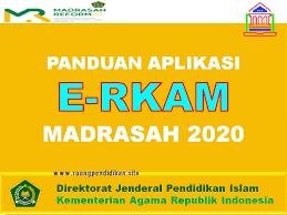 Aplikasi e-RKAM Madrasah Tahun 2021