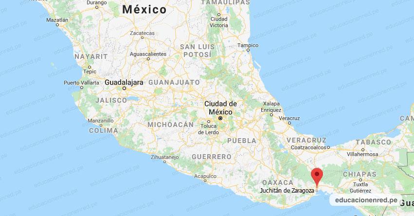 Temblor en México de Magnitud 4.1 (Hoy Domingo 29 Noviembre 2020) Sismo - Epicentro - Juchitán de Zaragoza - Oaxaca - OAX. - SSN - www.ssn.unam.mx