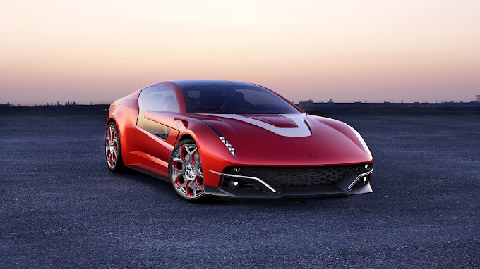 Italdesign Giugiaro Gea Red