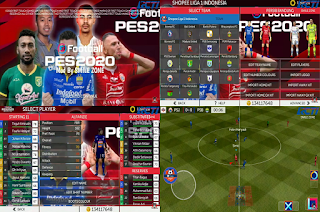 FTS 20 Mod PES 2020 Full Transfer Shopee Liga 1 2020