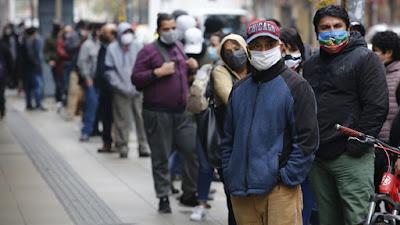 INE informó que la tasa de desocupación en Chile alcanzó un 10,4% entre enero y marzo 2021