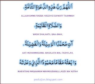 Doa Sesudah Adzan Lengkap Arab dan Latin
