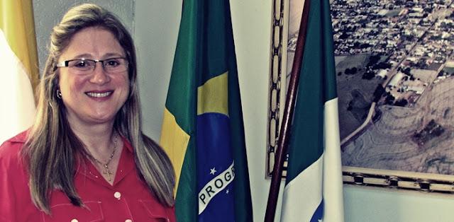 Salário da prefeita de Roncador é quase igual o salário do prefeito de São Paulo