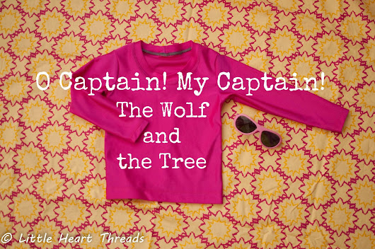 O Captain! My Captain! A new swimsuit from The Wolf and the Tree