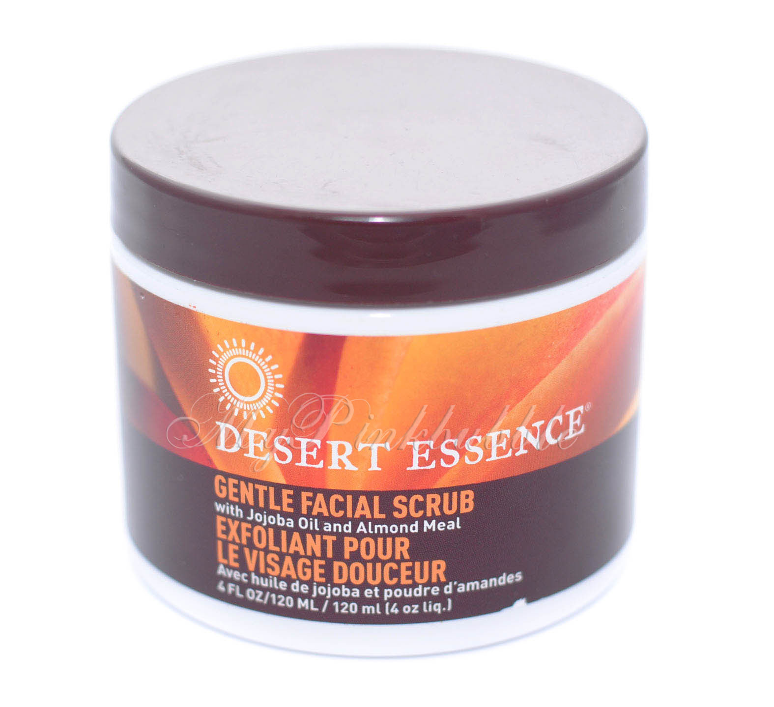 Desert essence gentle facial scrub