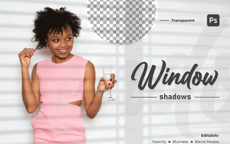 Windows Shadow Overlays (PSD)