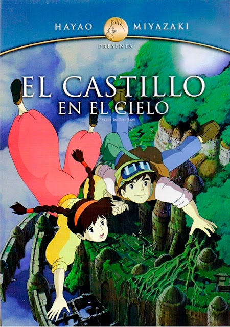 Cartel de la película de animación de Studio Ghibli, El Castillo en el Cielo