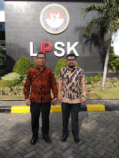 Jalin Sinergitas, IMO-Indonesia Audiensi Dengan Lembaga Perlindungan Saksi dan Korban