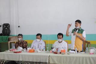 Cawagub Syafril Nursal nomor Urut 2,mengukuhkan tim pemenangan, Di Kecamatan Muara Tembesi