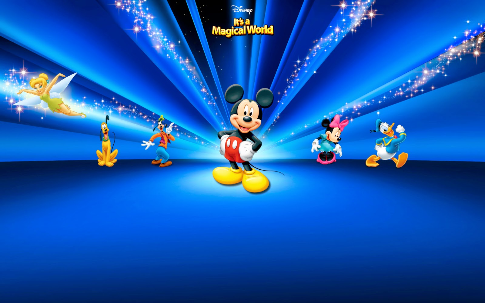 Disney Character Wallpapers -  Mickey Mouse