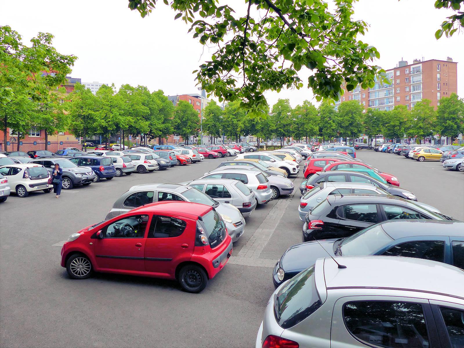 Stationnement Tourcoing - Parking Mitterrand