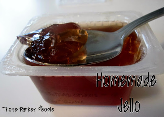Super yummy jello cups? Yes please!