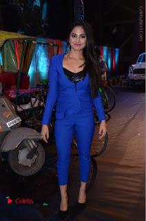 Actress Naina Ganguly Stills in Blue Dress at RGV Shiva to Vangaveeti Event  0057.JPG