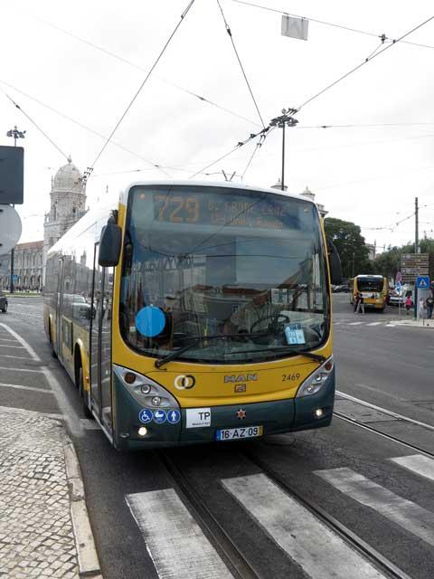 Lisbon Bus 729