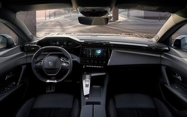 Novo Peugeot 308 2022 - interior