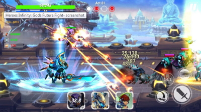 Download Game Heroes Infinity MOD APK