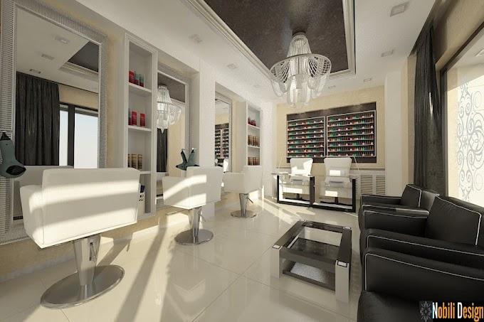 Design interior salon infrumusetare Urziceni - Amenajare interioara coafor