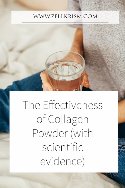 collagen powder effectivess with scientific evidence