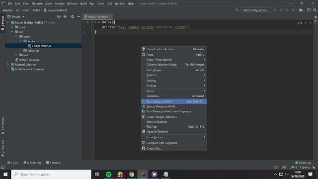 Belajar Kotlin: Persiapan Pemrograman Kotlin Konfigurasi SDK dan Install Intellij IDEA