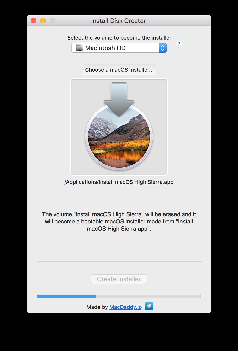 Come creare una pendrive bootable con macOS