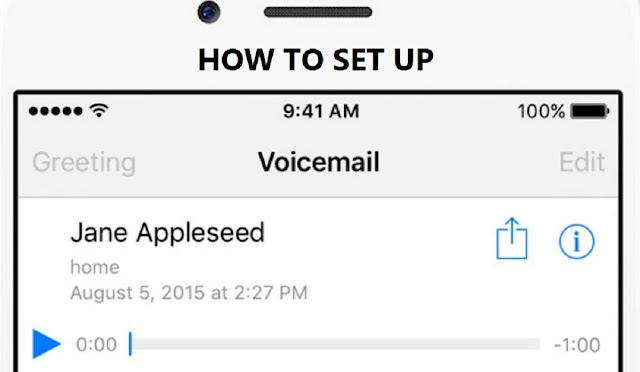 how to put voicemail on iphone