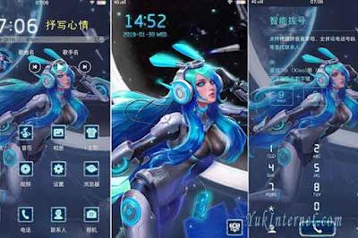 tema vivo hero mobile legends
