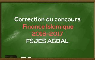 Correction du Concours Master Finance Islamique 2016-2017 - Fsjes Agdal