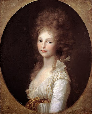 Princess Frederica by Johann Friedrich August Tischbein, 1797