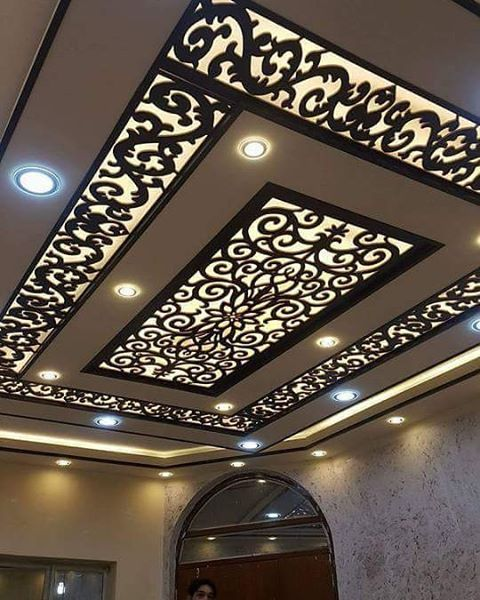 Cnc Kitchen Design: CNC False Ceiling Designs Ideas