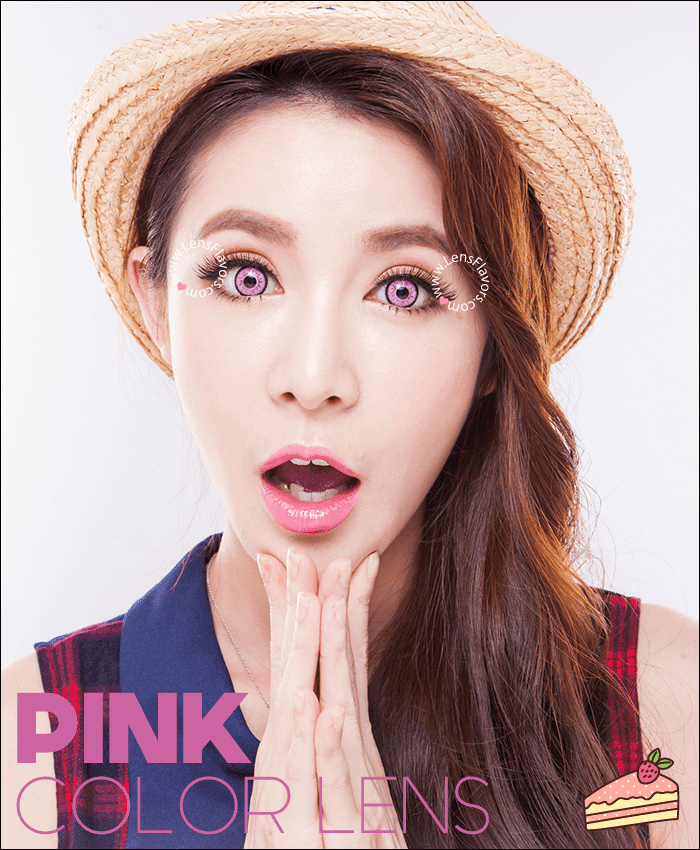 eos dolly eye pink colored contacts