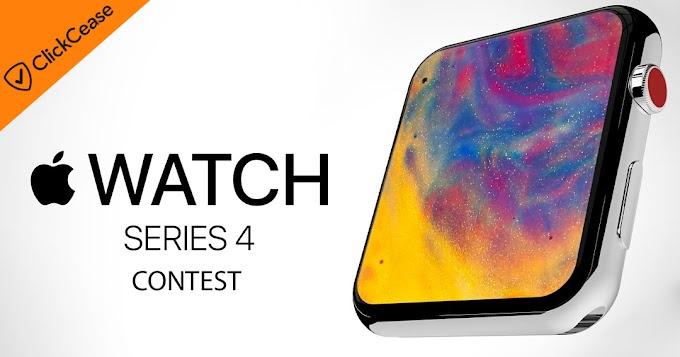 Sorteio: Ganhe Um Apple Watch Series 4