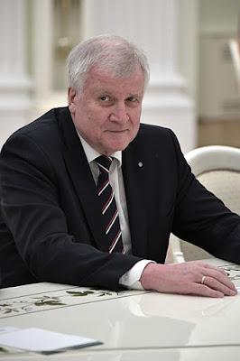 Minister-President of Bavaria Horst Seehofer.