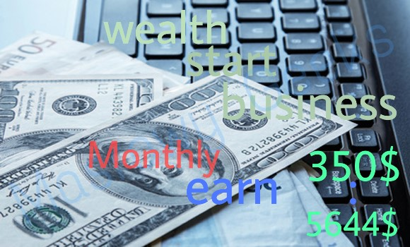 earn Monthly 350 : 5644  $ for rfee cpm cpc by click wealth start business