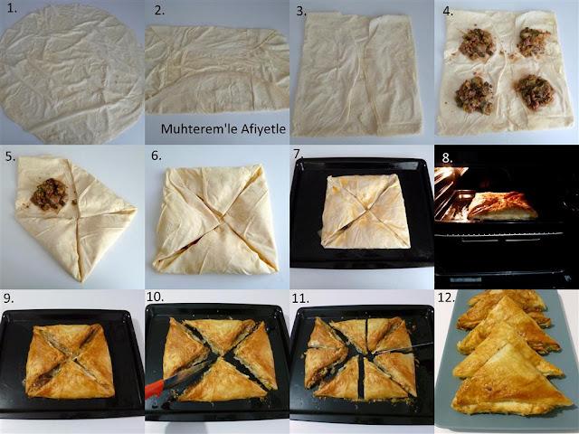 zarf böreğinin yapılış şekli
