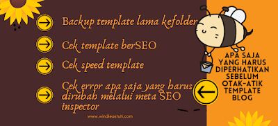 Ubah template blog di blogspot