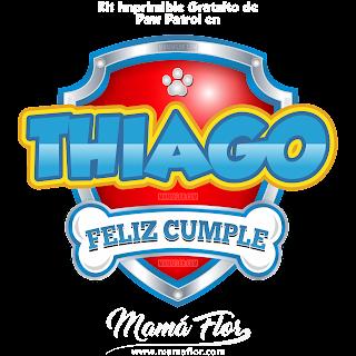Logo de Paw Patrol: THIAGO