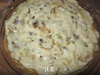 соус для блинного пирога
