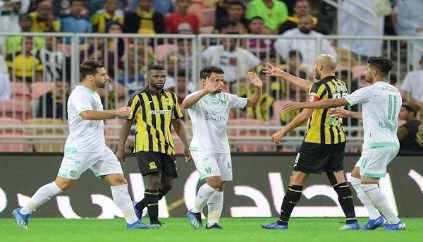 الاهلي السعودي نتيجة مباراة الاهلي والاتحاد بث  31-10-2019 الدوري السعودي