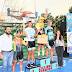 Junto al vicegobernador Eber Solis, el arquitecto Ariel Sosa participó de la entrega de premios de la competencia de ciclismo