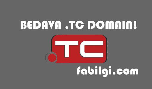 Bedava Tc Uzantılı Domain Alma Yöntemi Kanıtlı Ödemesiz Kartsız 2020