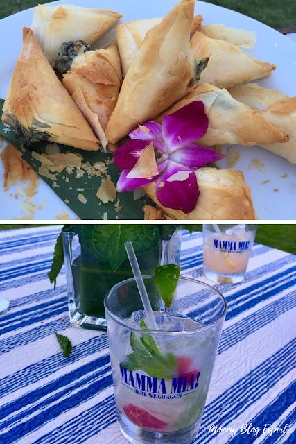 Spanakopita Greek Theme Cocktails