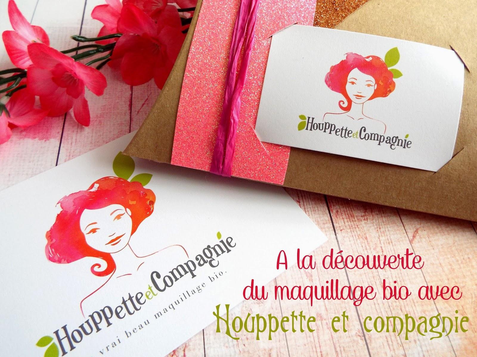 A la découverte du maquillage bio avec Houppettes et Compagnie (+concours fermé)